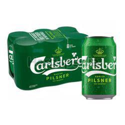 Carlsberg Danish Pilsner Can 6x320ml