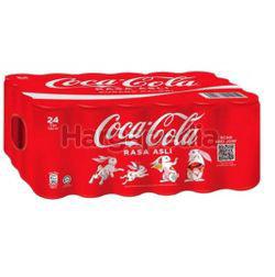 Coca-Cola Rasa Asli Can 24x320ml
