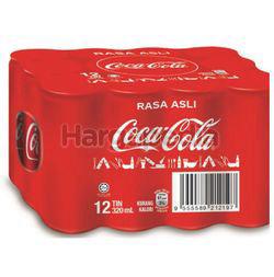 Coca-Cola Rasa Asli Can 12x320ml