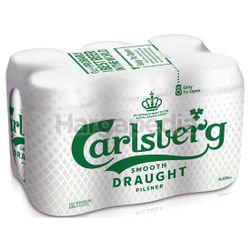 Carlsberg Smooth Draught Can 6x320ml