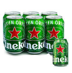 Heineken Beer Can 6x320ml