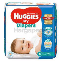 Huggies Dry Tape Baby Diaper S84
