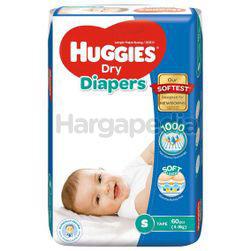 Huggies Dry Tape Baby Diaper S60