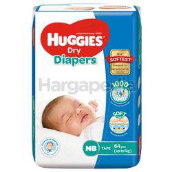 Huggies Dry Tape Baby Diaper NB64