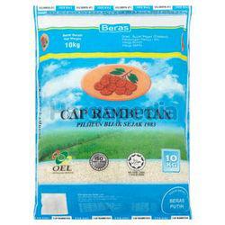 Cap Rambutan Biru Thai White Rice 10kg
