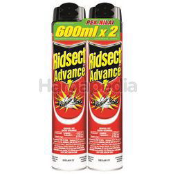 Ridsect Aerosol Advance 2x600ml