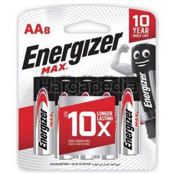 Energizer Max Alkaline Battery 8AA