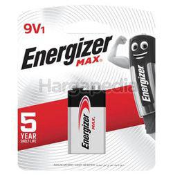 Energizer Max Alkaline Battery 9V 1s