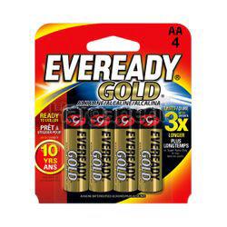 Eveready Gold Alkaline Battery 4AA