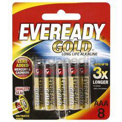 Eveready Gold Alkaline Battery 8AAA