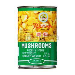 Narcissus Whole Mushroom 425gm