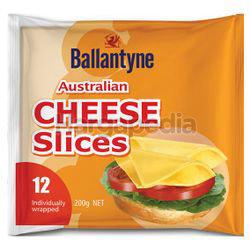 Ballantyne Australian Cheese Slices 12s 200gm
