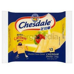 Chesdale Cheese Plain 12s 250gm