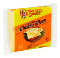 Mother's Choice Cheddar Cheese Slice 200gm