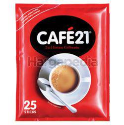 Cafe 21 Unsweetened Coffee 25x12gm