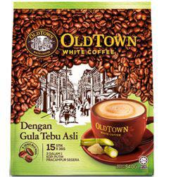 OldTown 3in1 White Coffee Cane Sugar 15x36gm