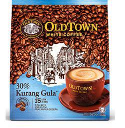 OldTown 3in1 White Coffee Less Sugar 15x35gm