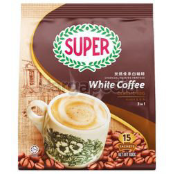 Super 3in1 Charcoal Roasted White Coffee Classic 15x40gm