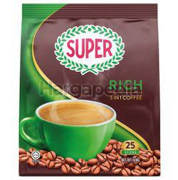 Super 3in1 Coffee Rich 25x20gm
