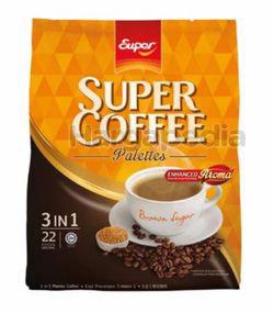 Super Coffee 3in1 Brown Sugar 22x22gm