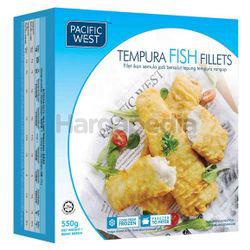 Pacific West Tempura Fish Fillets 550gm