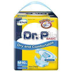 Dr P Basic Adult Diapers M10
