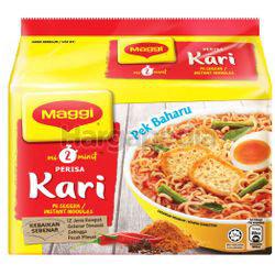 Maggi 2 minutes Noodle Curry 5x79gm