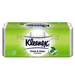 Kleenex 2-Ply Fresh & Clean Toilet Roll 20s