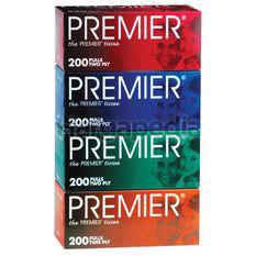 Premier Facial Tissue 4x200s