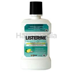 Listerine Healthy White Mouth Rinse 250ml