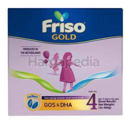 Friso Gold Milk Powder 4 3x400gm