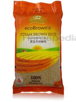 Eco Brown's Steam Brown Rice 5kg