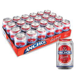 Anchor Smooth Can Beer 24x320ml