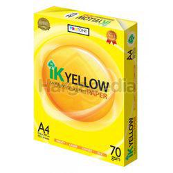IK Yellow A4 Paper 70gm 450s