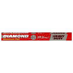 Diamond Aluminium Foil Heavy Duty 37.5 Sqft 1s