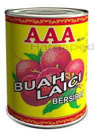 AAA Lychee In Syrup 565gm