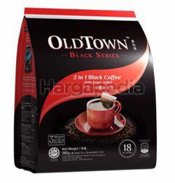 OldTown Black Series 2in1 Black Coffee with Sugar 18x20gm