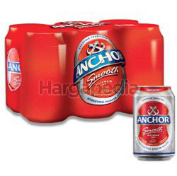 Anchor Smooth Can Beer 6x320ml