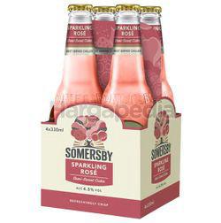 Somersby Sparkling Rose Cider Bottle 4x330ml