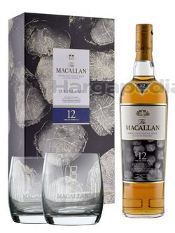 Macallan 12 Years Old Whisky Double Cask Gift Pack 700ml