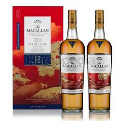 Macallan 12 Years Old Whisky Double Cask Gift Pack 2x700ml