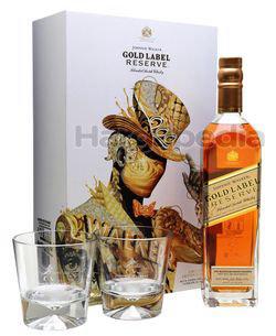 Johnnie Walker Gold Label Reserve Gift Pack 700ml