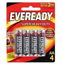 Eveready Super Heavy Duty 4AA