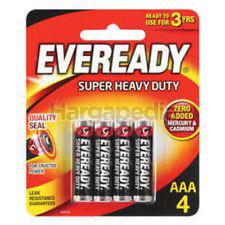 Eveready Super Heavy Duty 4AAA