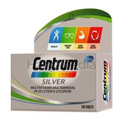 Centrum Silver Multivitamin & Mineral + Lutein & Lycopene 100s