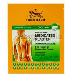 Tiger Balm Medicated Plaster Cool (S) 2s
