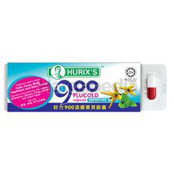 Hurix's 900 FluCold Capsule 6s