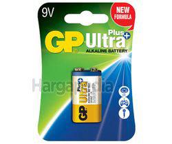 GP Ultra Plus Alkaline 9V Batteries 1s