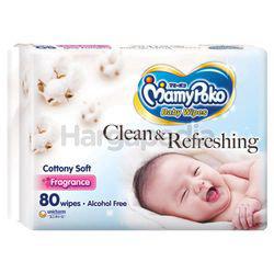 Mamy Poko Baby Wipes Cottony Soft with Fragrance 80s