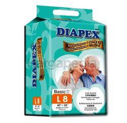 Diapex Adult Diaper L8